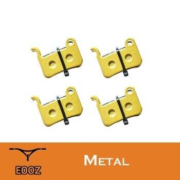 EOOZ 4 Pares METAL Metálico bicicleta DISCO PASTILHAS de FREIO PARA SHIMANO XTR para M965, M966, M975, santo M800, Deore XT M765, M775, M776.