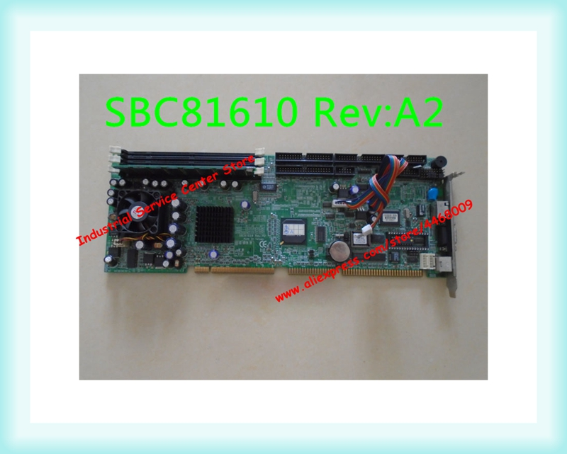 Original computador industrial motherboard SBC81610 Rev: A2