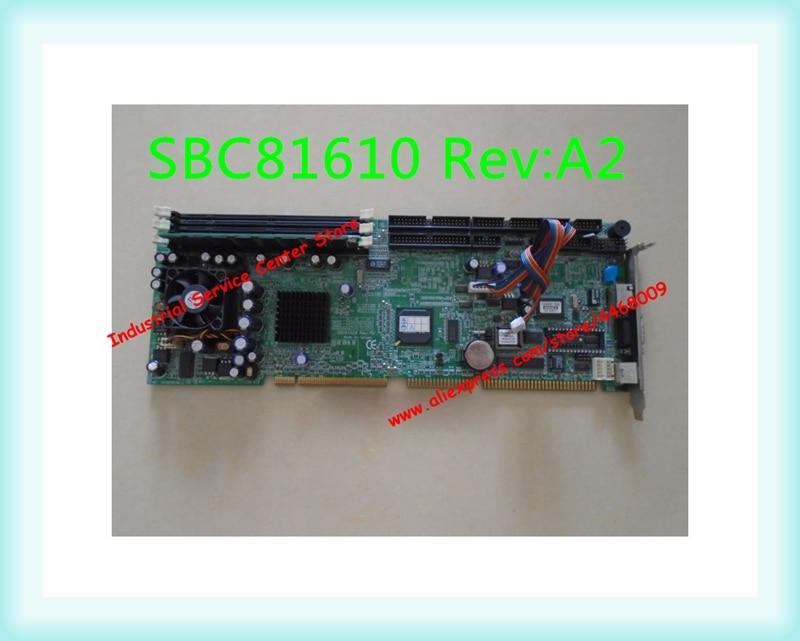 Original industrial computer motherboard SBC81610 Rev A2