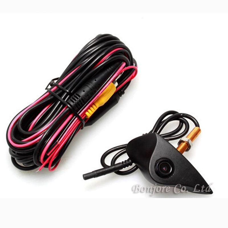 KOORINWOO Автомобильная Водонепроницаемая HD CCD камера с логотипом ночного видения Автомобильная фронтальная камера для Hyundai Parking Assist видео сист...