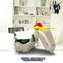 OUSSIRRO ZETA GUNDAM modelo mano resina Cenicero creativo Robot transformación inicio Accesorios de escritorio L2059