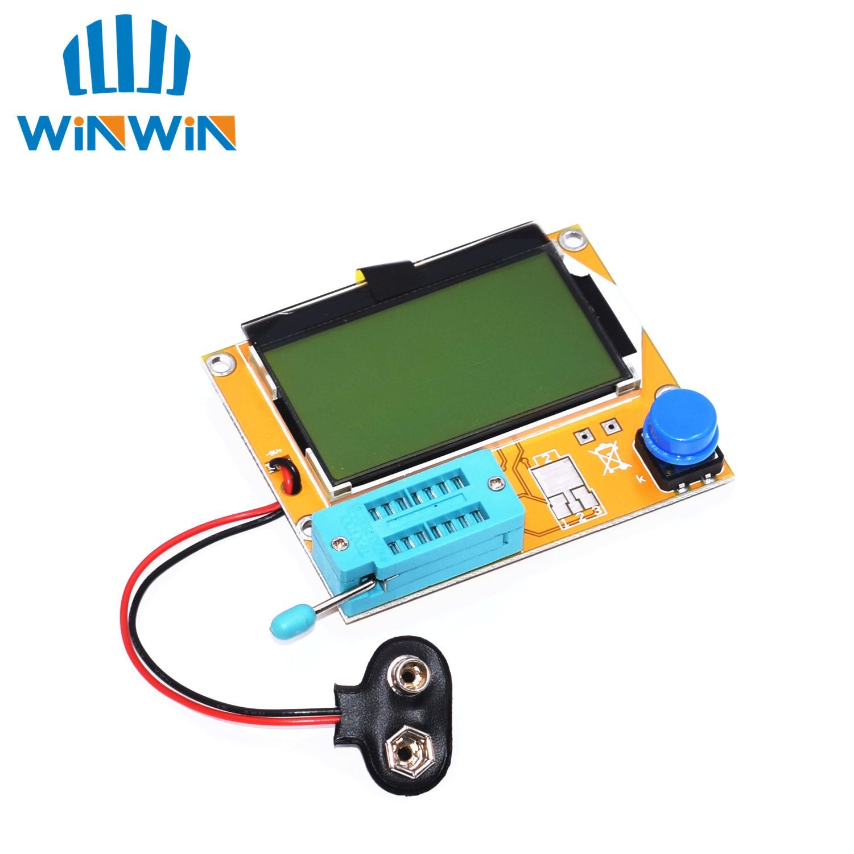 B03 5pcs LCR T4 12846 LCD M328 Digital Transistor Tester Meter Backlight Diode Triode Capacitance ESR