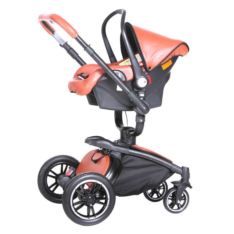 2017 nouveau limité bébé poussette Aulon siège auto bébé Carraiage 3 en 1 nouveau-né berceau seulement (poussette besoin d'acheter seul) - 2