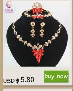 Женские Ювелирные наборы с белыми кристаллами и сережками эффектное