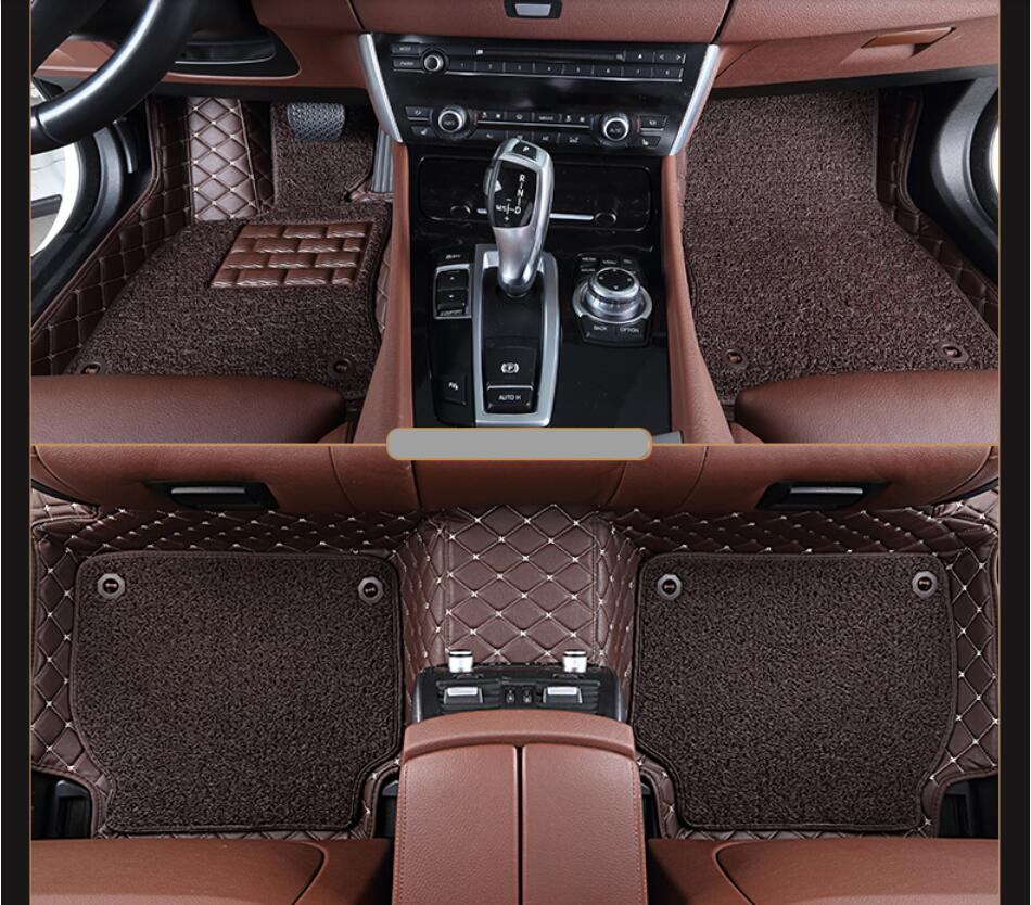 Infiniti qx60 rubber floor mats - For Infiniti Qx60 2014 2015 2016 2017 Floor Mats Foot Carpets High Quality Brand New Embroidery Style