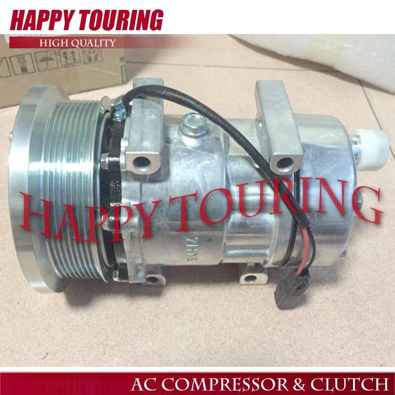 Nouveau SD7H15 7H15 AC compresseur pour Caterpillar Trucks pelle Sanden 4498 4806 4813