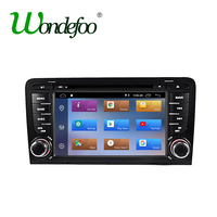 IPS 2 din Android 8.1 2G RAM Quad Core Car GPS radio for Audi A3 S3 2003 2012 navigation dvd player multimedia navigation screen
