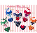 free shipping Cosplay Anime Sailor moon SEXY UNDERWEAR BRA AND PANTY SET 20th anniversary s-2xl in stock