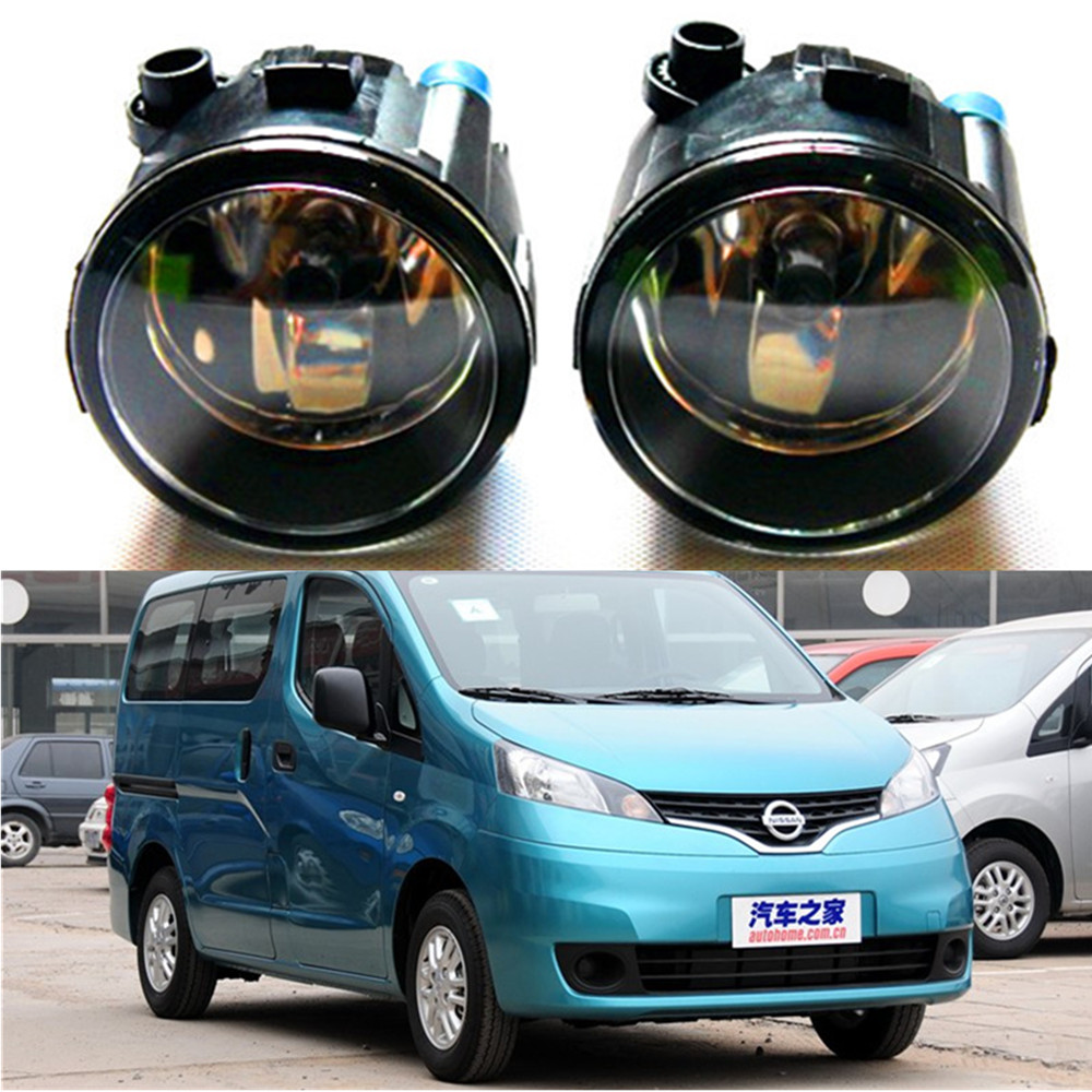 For NISSAN NV200 Box 2010-2015 high brightness Front bumper halogen fog lights Car styling nv200 fog light 2009 2015 2pcs nv200 halogen light free ship nv200 headlight nv 200