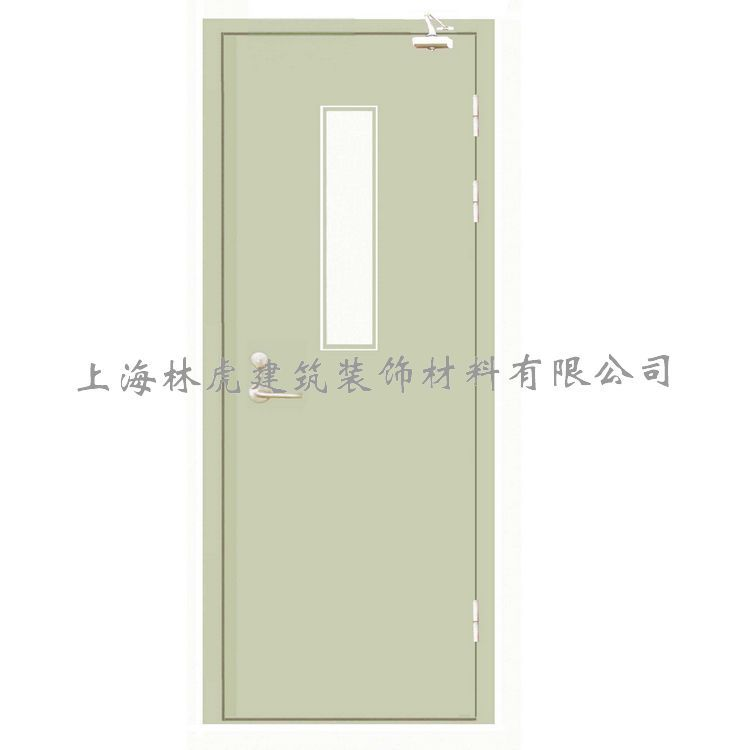 Lin Hu Fire Doors Steel Fire Door Class A Single Leaf Steel Fire