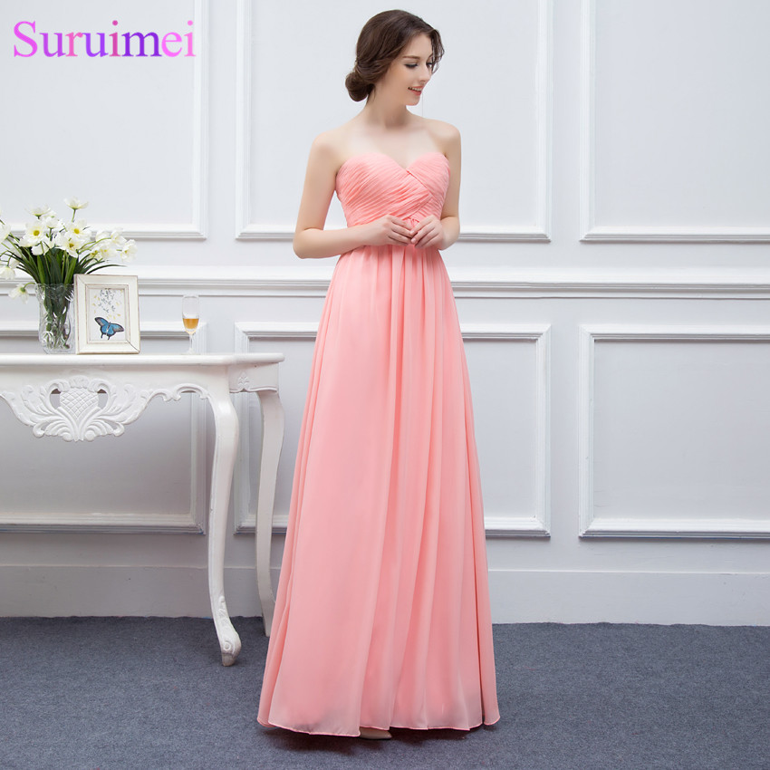 Cheap Prom Dresses Under 100 Chiffon Prom Gown Floor Length
