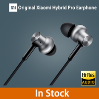 2016 New Original Xiaomi Hybrid Pro Earphone With Mic Remote In Ear HiFi Earphones Circle Iron