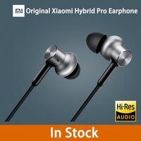 2016 New Original Xiaomi Hybrid Pro Earphone With Mic Remote In Ear HiFi Earphones Circle Iron