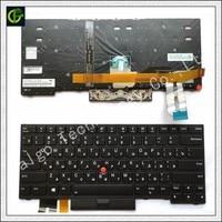 Russian Backlit keyboard for Lenovo Thinkpad E480 T480S L480 L380 yoga laptop 01YP360 01YP520 RU laptop black