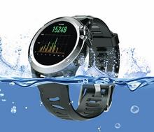 IP68 wasserdicht GPS Wifi 3G Kamera Smart Uhr Pulsuhr outdoor-sportarten kompass 4 GB 512 MB Für Android IOS