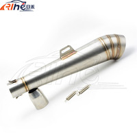 Brand New Motorcycle Staainless Steel Motorcycle Exhaust Pipe Modified Fried Tube Gp Exhaust Pipe For Honda