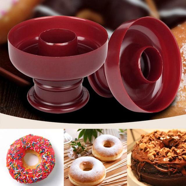 Kunststoff Donut Kuchen Maker Mold Home Party Desserts