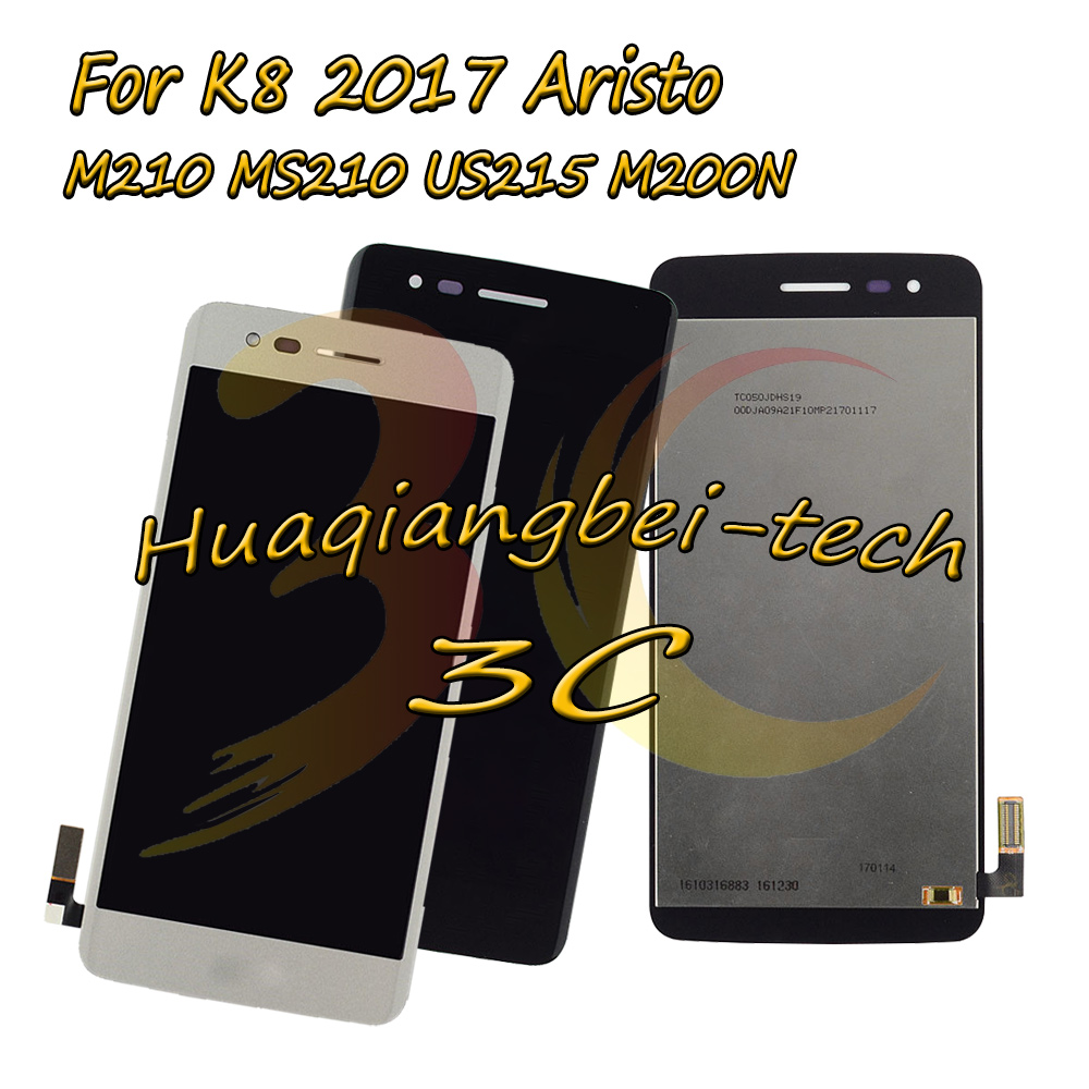 New 5.0 For LG K8 2017 Aristo M210 MS210 US215 M200N Full LCD DIsplay + Touch Screen Digitizer Assembly 100% TestedNew 5.0 For LG K8 2017 Aristo M210 MS210 US215 M200N Full LCD DIsplay + Touch Screen Digitizer Assembly 100% Tested