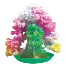 DIY Color Grow Paper Trees Magic Growing Christmas Tree Magically Science Toys For Children Decorative Japanese Gag Gift Novelty