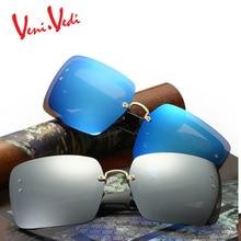 H 2017 moda vintage gran marco personalidad reflectantes gafas de sol de las mujeres gafas de sol de Tendencia de las mujeres clásicas gafas de sol UV400