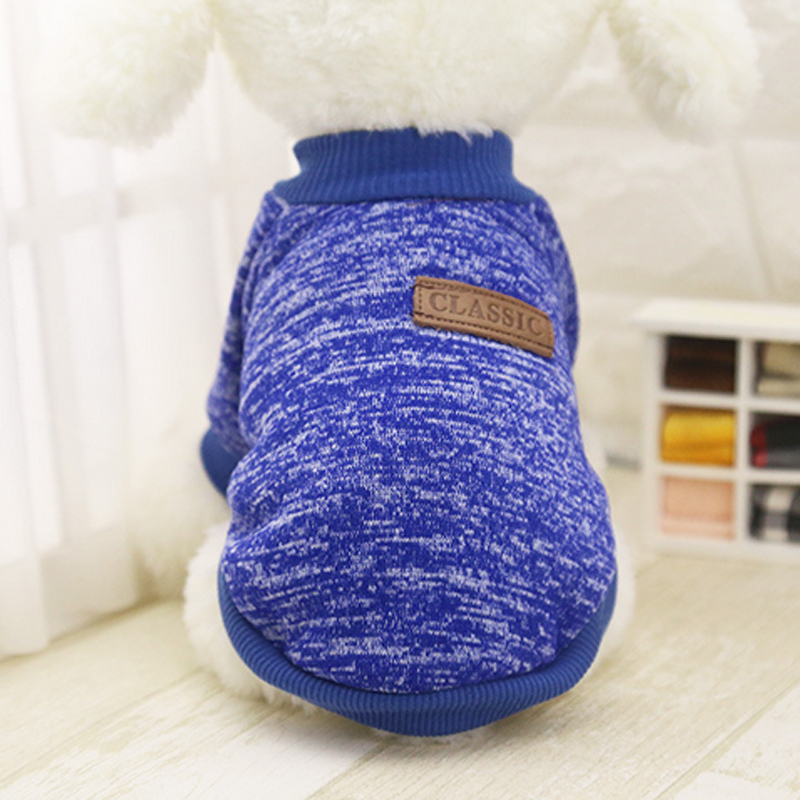 Autumn Winter Dog Coat Hoodie Knitted Sweater Cat Puppy Chihuahua Dog Clothes Pet Clothing for Dog Costume