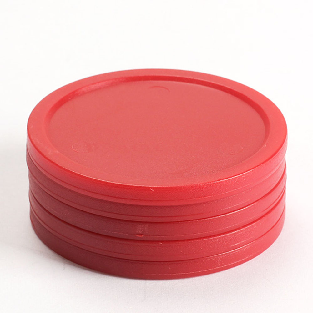 Wholesale Mini 5 Pcs/set 50 Mm 2-inch Durable Red Air Hockey Table Pucks Puck Children Table Party Entertainment Accessories