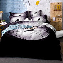 3D Skull Bedding Set Halloween marylin monroe & Duvet Cover pillowcase Twin Full Queen King Bed linens set