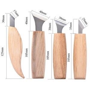 Image 2 - Набор ручных инструментов для резьбы по дереву, 7 шт., инструменты для резьбы по дереву DIY, ножи с чипом, ручной инструмент для дерева, набор для резьбы по дереву
