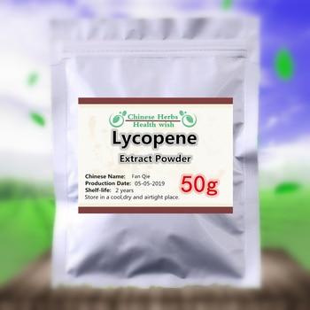 50-1000g de prevenir y reprimir el cáncer puro natural de licopeno en Polvo de pigmento de extracto de tomate en polvo anti-envejecimiento mejorar la inmunidad