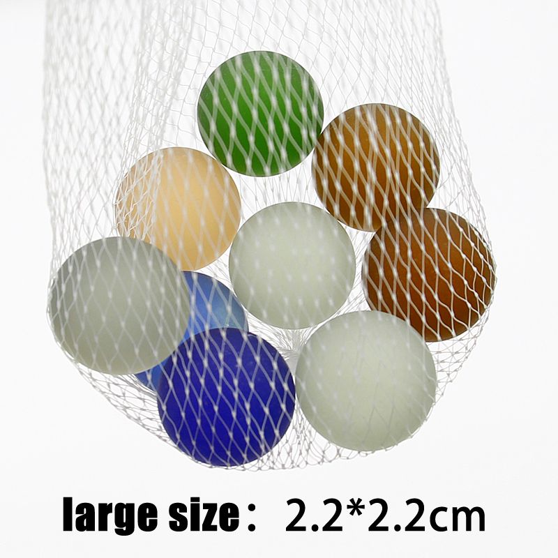10PCS 22mm Glass Ball Multiple Colors Glass Console Game Pinball Machine Knicker Glass Balls Decoration Color Nuggets Toys