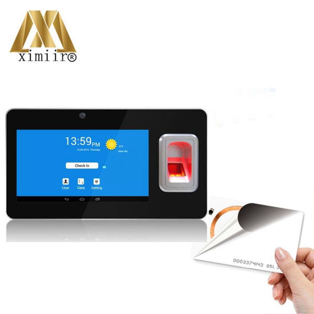 New!UT268 Android Fingerprint And RFID Card Time Attendance With GPS And SMS Biometric Fingerprint Time Recorder Terminal стоимость