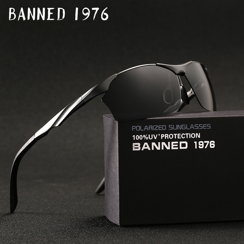 TOP Quality 2018 Aluminum Magnesium Mens Sunglasses Polarized Sun Glasses oculos Male Ey ...