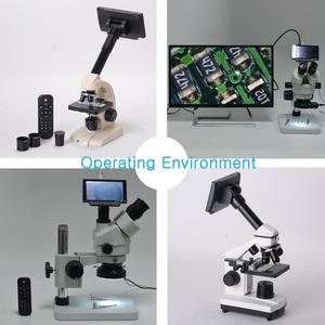 Image 5 - 5 Inch Screen 16MP 4K 1080P 60FPS HDMI USB & WIFI Digital Industry Microscope Camera 150X C mount Lens with SONY Sensor