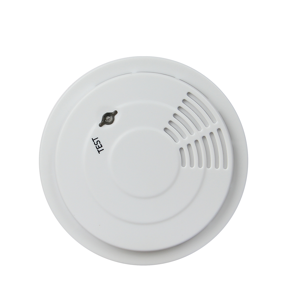 2017 New Arrival Wireless Smoke Detector High Sensitive Fire Alarm Sensor For Home Security Photo electric Smoke Alarm wireless smoke fire detector for wireless for touch keypad panel wifi gsm home security burglar voice alarm system