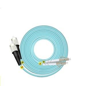 Image 4 - OM3 10 m LC SC FC ST UPC Duplex de Fibra Óptica Patch Cable Jumper 2 Core Patch Cord Multimodo 2.0mm Patchcord Fibra Óptica