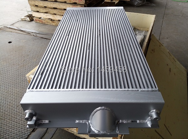 WJIER Sullair Heat Exchanger Oil Cooler Radiator 02250154-741 for Screw Air Compressor Parts high quality water cooled heat exchanger black 22091904 for screw air compressor spare parts