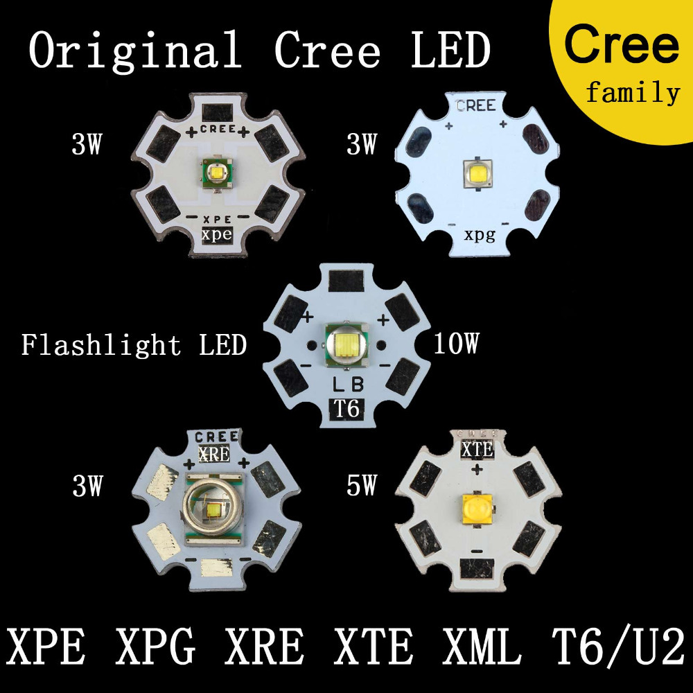 Home original cree xm l2 xml2 led emitter lamp light cold white - Aliexpress Com Buy Original Cree Family Mxl Xm L T6 Xm L2 Xp E R3 Xr E Q5 Xp G2 R5 Xt E R5 Led Flashlight Light Bulb