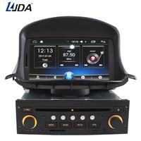 LJDA 1 din 7 дюймов Автомобильный dvd плеер Android 6,0 для peugeot 206 206CC Авто Радио Аудио Bluetooth Canbus gps навигация четырехъядерный