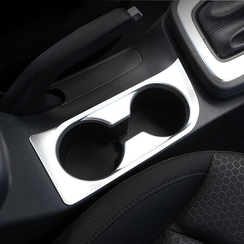 Car Inner Water Cup Holder Cover Trim For LHD Hyundai Elantra Avante 2016-2017