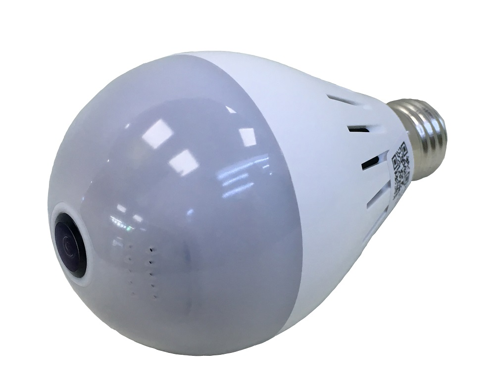 bulb light ip camera 360 degree video surveillance cctv. Black Bedroom Furniture Sets. Home Design Ideas