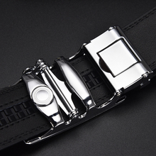 Businessman's Alloy Automatic Buckle Buckle Leather Belt