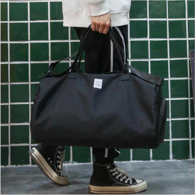 Tas Travel Tahan Air Kapasitas Besar Tas Tangan Bepergian Bee Tas 2019 Fashion Wanita Weekend Travel Duffle Bag Tas Tangan