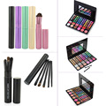 5pcs Eyeshadow Powder Makeup Brushes + 78 Colors Contour Face Cream Cosmetic Concealer Eyeshadow Palette Makeup Kits Beauty Sets
