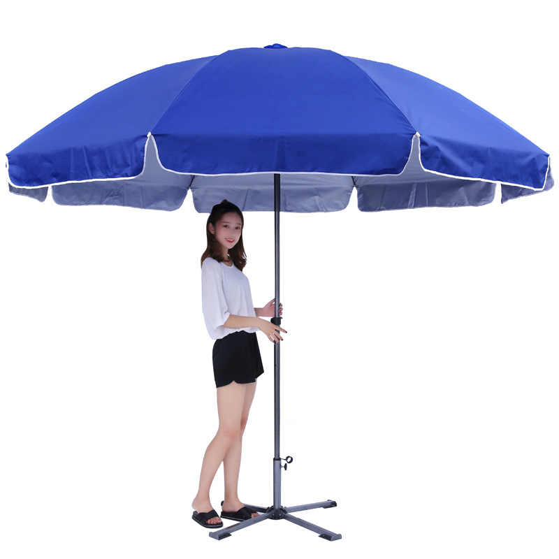 3 m outdoor advertising umbrella advertising parasol Beach umbrella stall umbrella can be printed logo awning