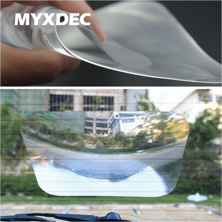 Car Wide Angle Fresnel Lens Car Parking Reversing Sticker Useful Enlarge View Angle Optical Fresnel Lens Car Accessories doumoo 330 330 mm long focal length 2000 mm fresnel lens for solar energy collection plastic optical fresnel lens pmma material