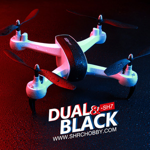 Image 5 - HR aerial photography drone SH7 remote control aircraft intelligent follow gesture photo video four axis aircraft