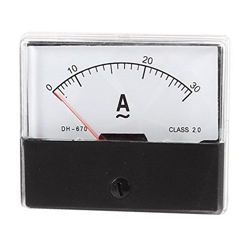 Аналоговый амперметр переменного тока 0-30 А 1 А 2 А 3 А 5 А 10 А 20 А 50 А