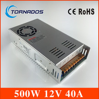 ac to dc 500W 12v 40A Sufficient 110V/220V Strip Lamp led driver source switching power supply volt MS 500 12