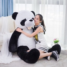 big lovely plush panda toy huge black&white panda doll gift about 180cm y0005
