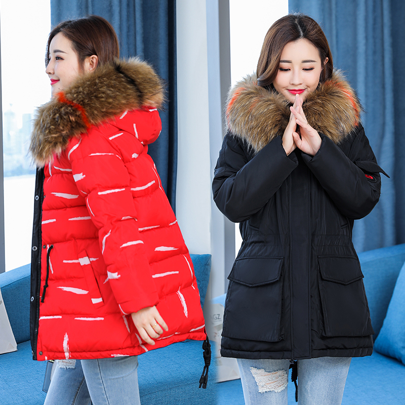 Maternity Winter Coat Solid Thicken Clothes For Pregnant Women Fashion Down Cotton Wadded Coat Women Parkas 2018 maternity pregnant winter parkas women warm thicken hooded jacket coat cotton padded parkas coat